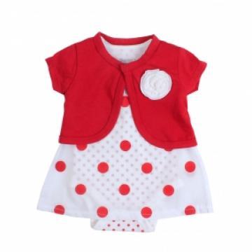 Bộ cotton tay dài in chú heo hồng Kiza bé gái 8