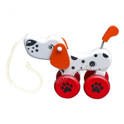 Chó đốm năng động, TN & Màu 63C6C đồ chơi gỗ an toàn