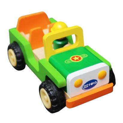 Xe Jeep  6830C- đồ chơi gỗ
